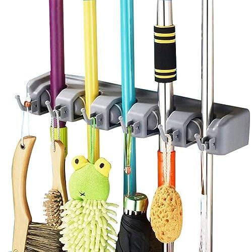 Closet Mop Amp Broom Organizer Amazon Com