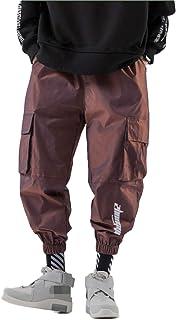 Monos para Hombre, Moda, Color Degradado, Sueltos, Casuales, Pantalones Cortos, Monos Finos de Verano con múltiples Bolsil...