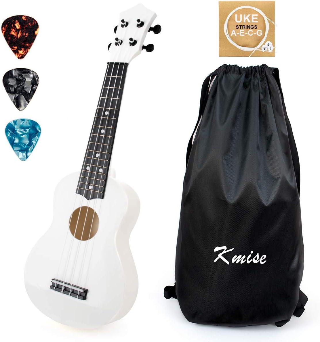 Soprano store Ukulele for Beginners Kids Today's only 21 ukelele ukulele inch White