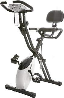 BTM エアロフィットネスバイク 静音 1年安心保証 折りたたみ機能付き 背もたれ付き 10段階負荷調節