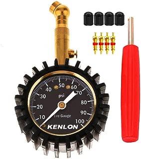 KENLON Tire Pressure Gauge Tire Pressure Measurement Guauge 0-100psi (Ordinary)
