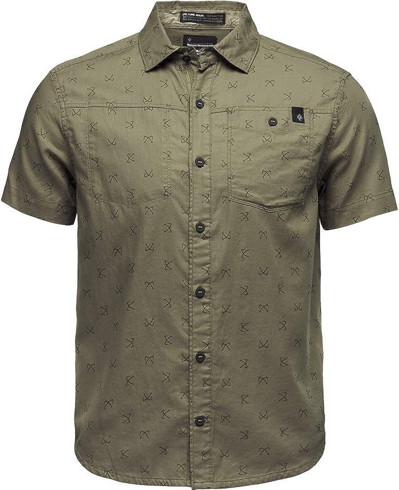 Black Diamond Mens Ss Solution Shirt