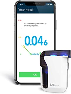 BACtrack Mobile Smartphone Breathalyzer   Professional-Grade Accuracy   Wireless Connectivity to Apple iPhone, Google & Sa...