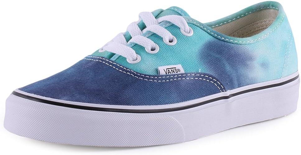 Baskets Vans Authentic pour femme Motif Tie Dye - Bleu - bleu, 39 ...