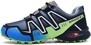 Scarpe da Montagna Uomo Scarpe da Trail Running Traspirante Scarpe da Escursionismo Antiscivolo Scarpe da Arrampicata
