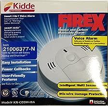 Kidde 21006377-N KN-COSM-IBA Smoke and CO Combination Alarm with 2 AA Alkaline Battery Backup 120 Volt AC