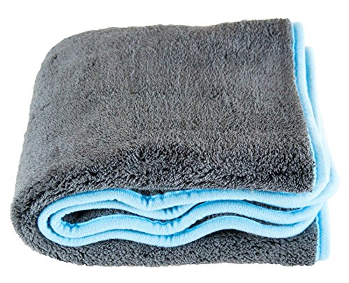 Liquid Silverback XL Microfibre Drying Towel Cloth 1200 GSM 50 x 80 cm