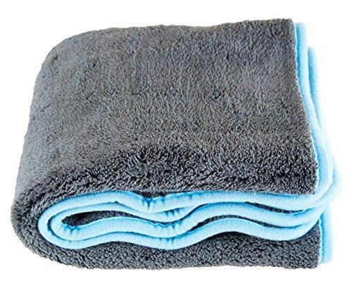 Liquid Silverback XL Microfibre Drying Towel Cloth 1200GSM 50x 80cm