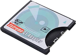 CYカメラSD SDHC SDXC to高速ExtremeコンパクトフラッシュCFタイプIメモリカードアダプタ
