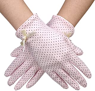 Sun Gloves UV Protection for Driving, Firm Grip Women Gloves UPF 50+ with Breathable Cotton Material and 8.7