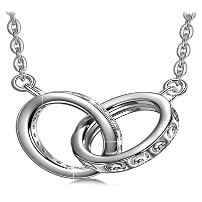 SIVERY Contract of Love' Necklaces for Women, H...