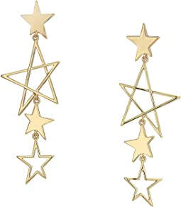 Super Nova Star Drop Earrings