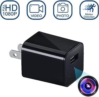 隠しカメラ 1080P HD i-pelay 超小型カメラ スパイカメラ 防犯監視カメラ 盗撮 高画質 長時間録画 動体検知 小型 屋内家庭用 防犯カメラ 日本語取扱説明書付き