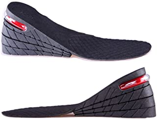 Height Increase Insole, 4 -Layer Shoe Insoles Lift Elevator Taller Pads Inserts 7.5cm about 2.95 Inch For Men And Women