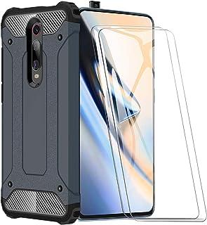 XIFAN Funda para Xiaomi Mi 9T, protección contra Golpes de TPU + PC Resistente a arañazos (Doble Capa) Carcasa para Xiaomi...