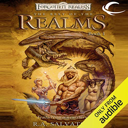The Best of the Realms Audiobook By R. A. Salvatore, Ed Greenwood, Troy Denning, Christie Golden, Elaine Cunningham cover art