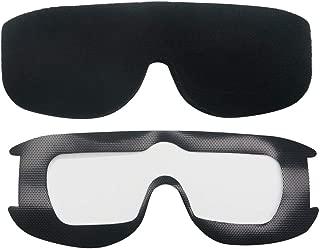 10mm Upgrade Faceplate Sponge Foam Pads for Aomway Commander V1 V1S V2 FPV Goggles
