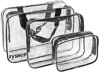 Bolsas de Aseo Transparente Neceser PVC Impermeable Mujer