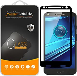 (2 Pack) Supershieldz for Motorola (Droid Turbo 2) Tempered Glass Screen Protector, (Full..