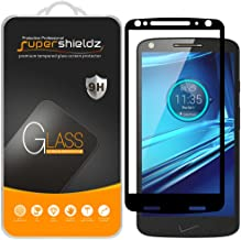 (2 Pack) Supershieldz for Motorola (Droid Turbo 2) Tempered Glass Screen Protector, (Full Screen Coverage) Anti Scratch, B...