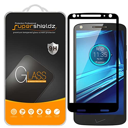 [2-Pack] Supershieldz for Motorola (Droid Turbo 2) Tempered Glass Screen