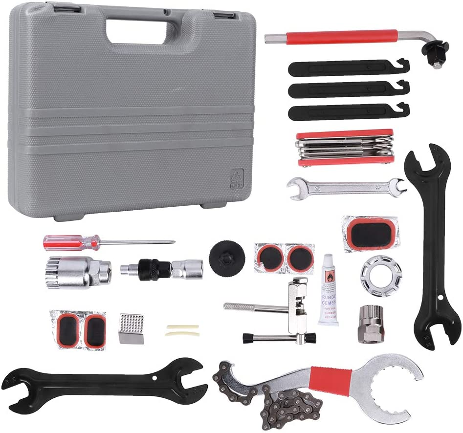 OFFer Teror excellence Bike Repair Tool 26Pcs Home Bicycle Set Meta Domestic