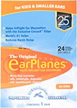 EarPlanes Original Earplugs for Children/Smaller Ears, Pressure Filtering Protection for Airplane Travel (1 Pair)