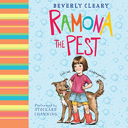 Ramona the Pest audiobook cover art