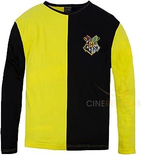 Cinereplicas - Harry Potter - T-Shirt - Estilo Torneo de los Tres Magos y Quidditch - T-Shirt Cedric Diggory - Licencia Of...