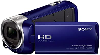 Sony HDRCX240/L Video Camera with 2.7-Inch LCD - Blue...