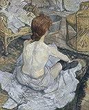 Berkin Arts Henri de Toulouse Lautrec Giclée Leinwand