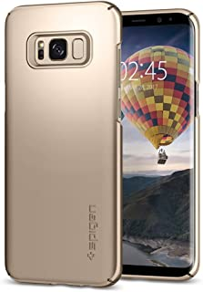 Spigen Thin Fit Galaxy S8 Case with Premium Matte Finish Coating for Samsung Galaxy S8 2017 - Maple Gold