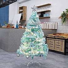 Kerstboom kunstmatige Kunstmatige Kerstbomen Blauw Kunstmatige LED Lichten &Amp; Klassieke Milieuvriendelijk Versierde Pin...