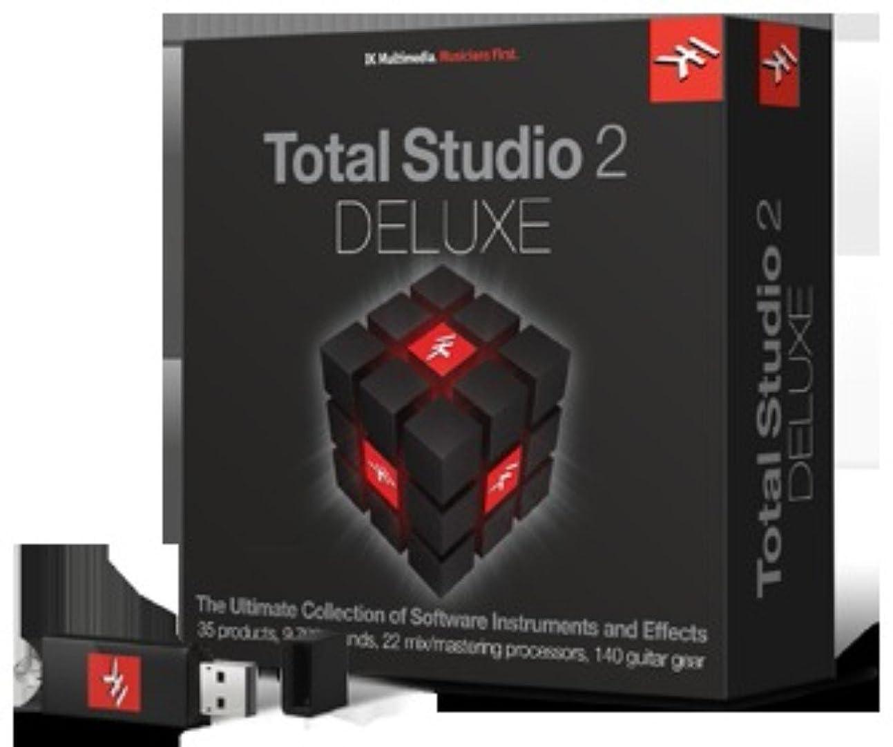 浅い間違っている抗議IK Multimedia Total Studio 2 Deluxe クロスグレード初回限定版 ソフトウェア音源 & エフェクト?バンドル【国内正規品】