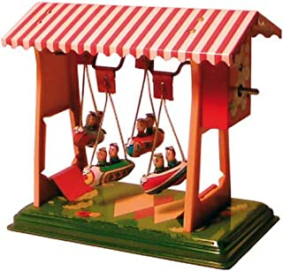 CAPRILO Carrusel Decorativo de Hojalata ZEPPELINES Feria China  Carruseles y Circuitos de Cuerda. Artículos de Colección. ...