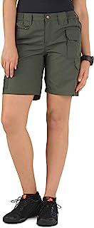 5.11 Women's TACLITE Tactical Shorts, Style 63071, TDU Green, 16