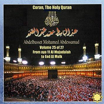 Coran, The Holy Quran Vol 25 of 27