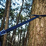 how to tie a hammock to a tree using straps