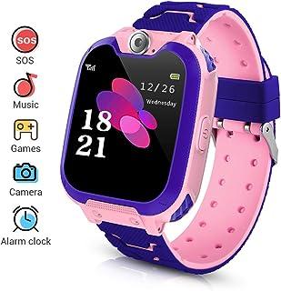 comprar comparacion Niños Smartwatch Phone, Smart Watch Phone con Reproductor de música, SOS, Pantalla táctil LCD de 1,44 Pulgadas con cámara ...
