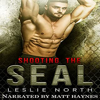 Shooting the SEAL audiobook cover art