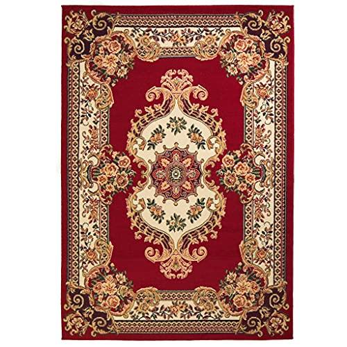 vidaXL Tappeto Orientale Stile Persiano 160x230cm Rosso/Beige Passatoia Stuoia