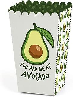 Hello Avocado - Fiesta Party Favor Popcorn Treat Boxes - Set of 12