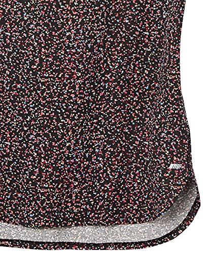 Amazon Essentials Studio Relaxed-fit Lightweight Crewneck T-Shirt Camiseta, Paquete de 2 Impresiones de Confeti Negro/Negro, L