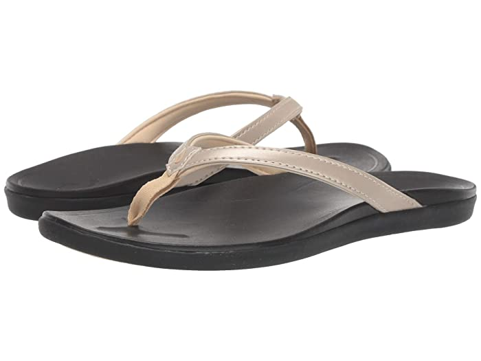 Ho'opio  Shoes (Bubbly/Black) Women's Sandals