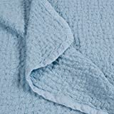 100% Pure Flax Linen Kid's Blanket (Blue) -  Sofia's Linen