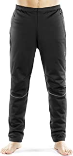 INBIKE Cycling Running Pants Mens Windproof Thermal for Outdoor Multi Sports