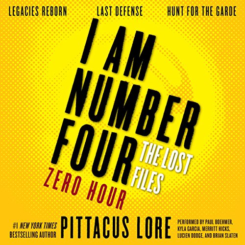 I Am Number Four: The Lost Files: Zero Hour audiobook cover art