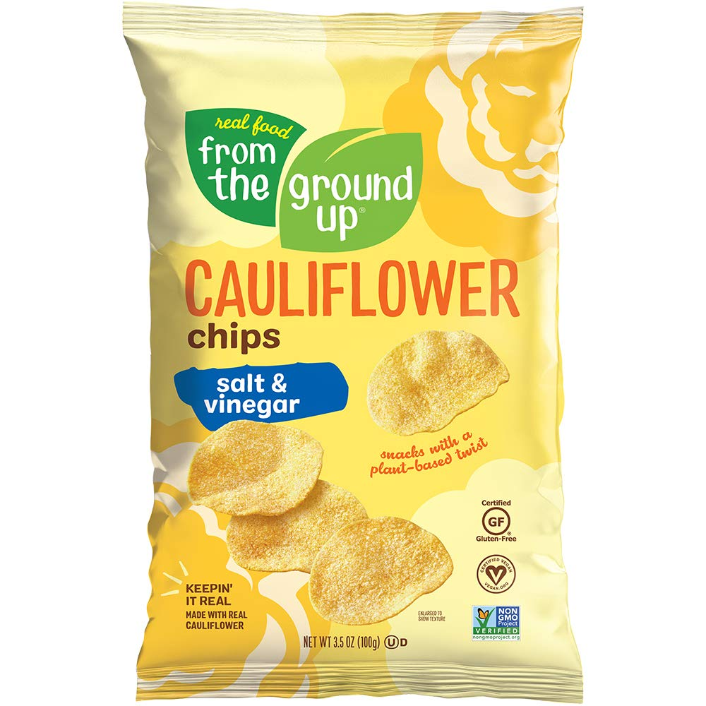 Real Food From The Ground Up Limited time for free shipping Cauliflower Pack - Snack Chips Ba OFFer 6