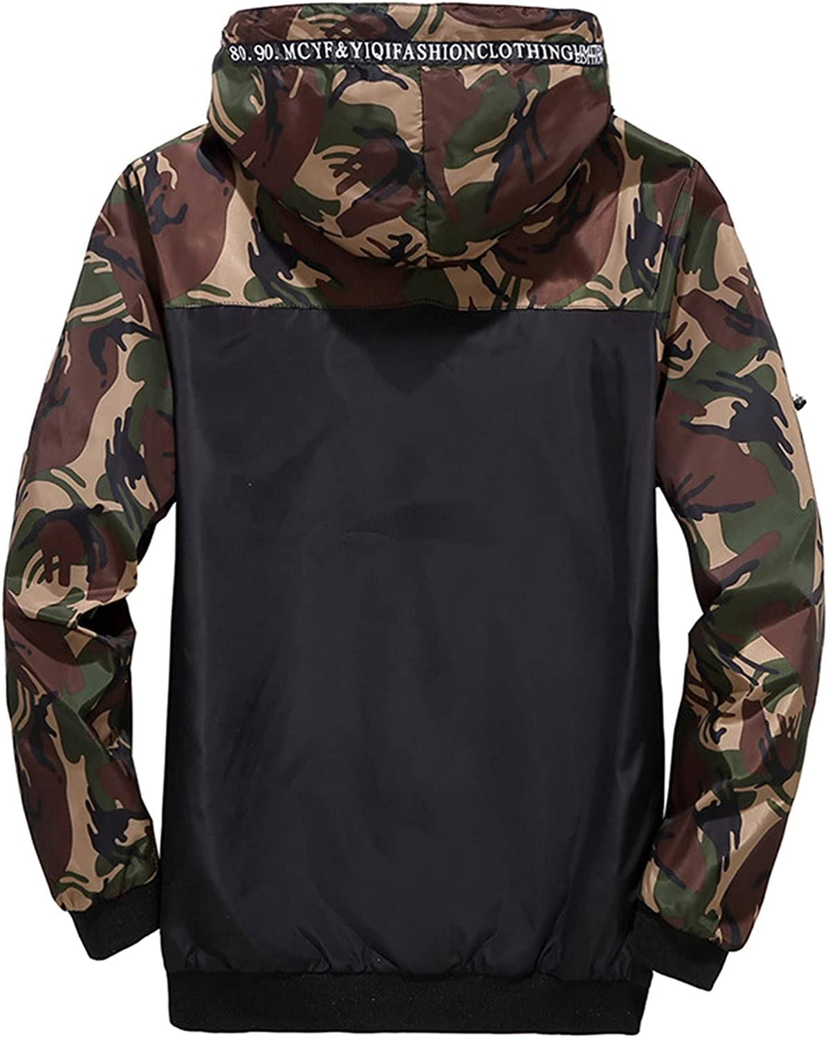 Men's Printed Jackets With Pocket, Camouflage print outdoor Fashion jacket V342