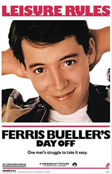 N-36 Ferris Bueller/'s Day Off Poster Classic Movie Wall Decor